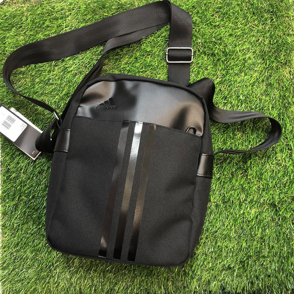 ADIDAS ORG2 全黑 單肩包 肩背包 側背包 斜背 小包 20 x 27 x 11 cm 型號 BQ6975