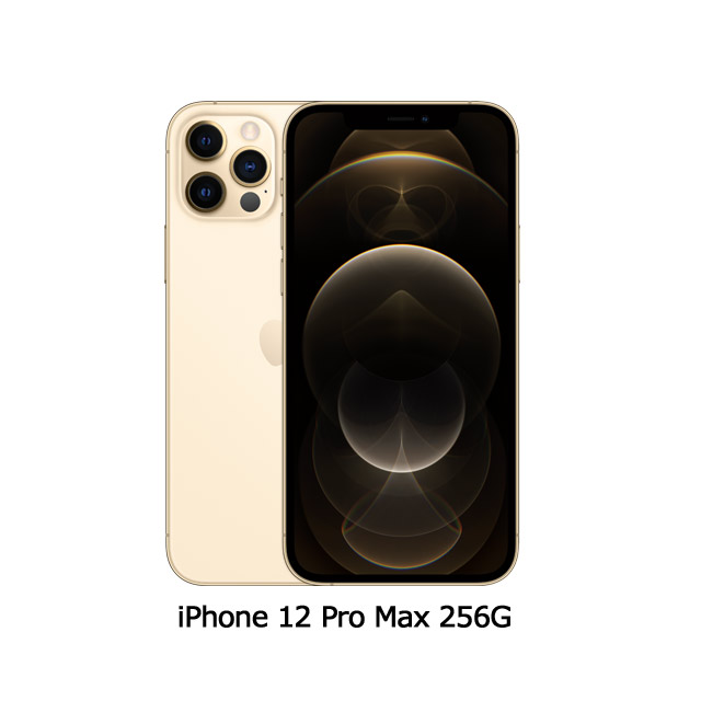 Apple iPhone 12 Pro Max (256G)-金色(MGDE3TA/A)