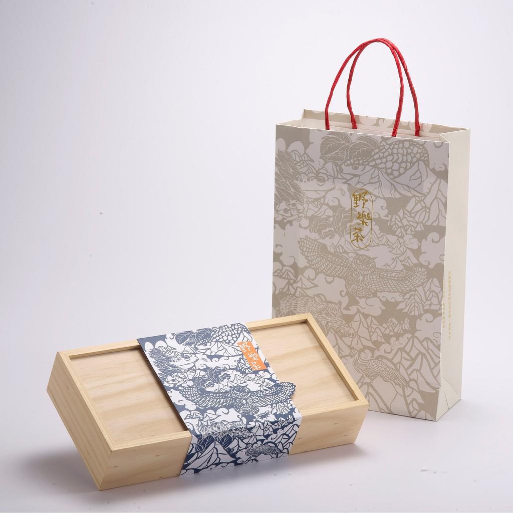 【野樂茶】茶山太極—台灣四大品種紅茶禮盒(32入)