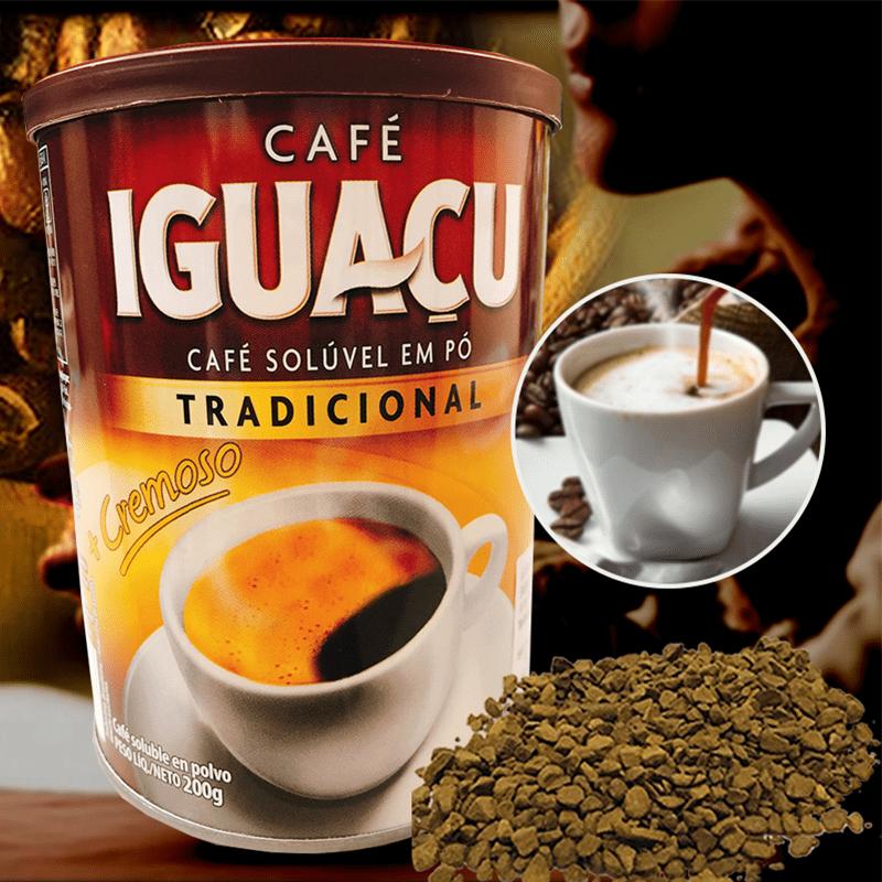 金德恩 【巴西傳統風味】伊瓜蘇即溶咖啡GS01791/GS01790