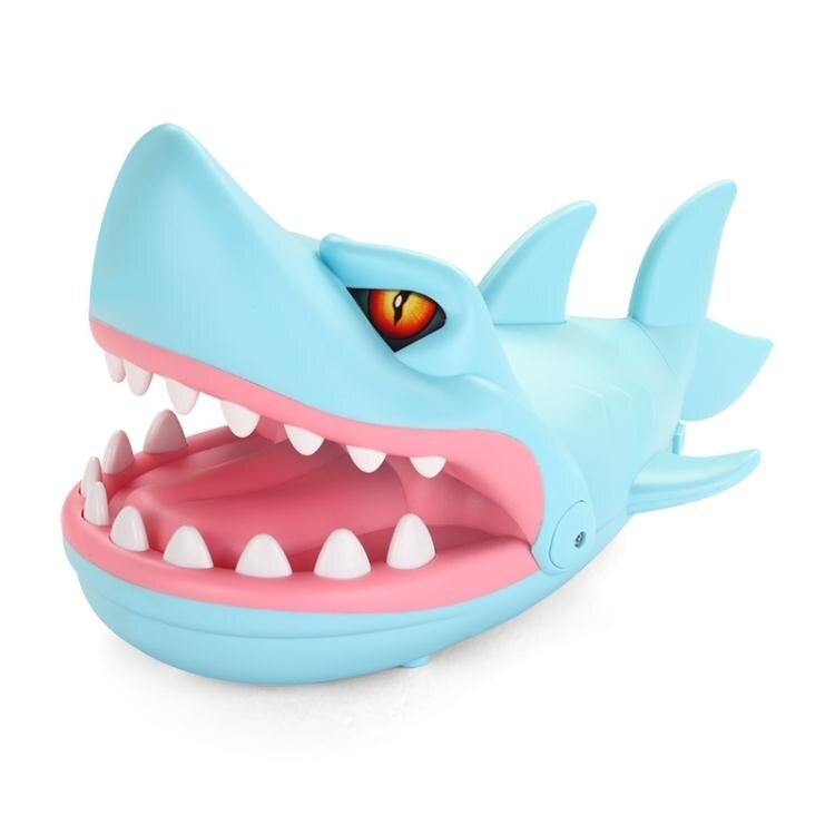 夯貨折扣!抖音熱門咬手指鯊魚咬手鱷魚創意整蠱整人惡搞解壓減壓神器小玩具