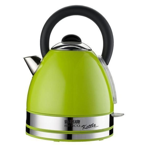 現貨 新格英式時尚1.7L不鏽鋼電茶壺/ 快煮壺 時尚英式綠寶石不鏽鋼烤漆 SEK-1735ST / SEK1735ST