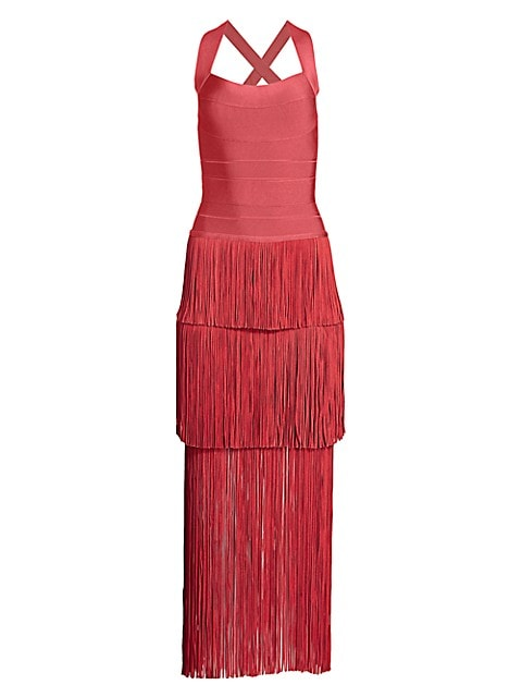 Icon Fringe Maxi Dress