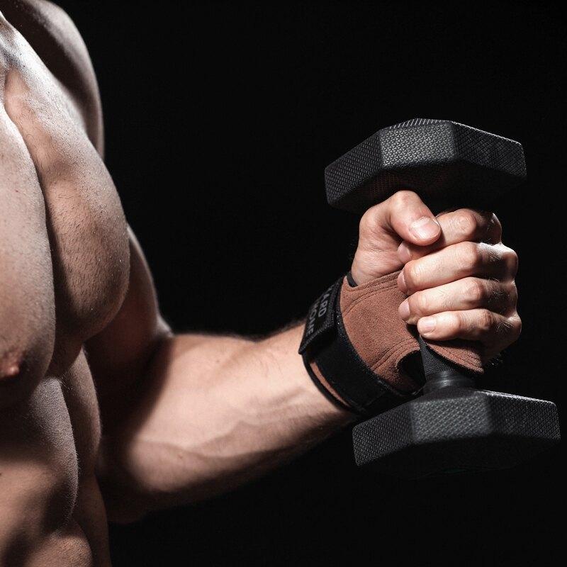 新店五折 拉力帶 助力帶 握力帶 重量訓練 護腕助力帶硬拉護掌男女握力帶防滑引體向上健身手套啞鈴訓練護具