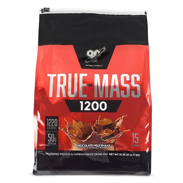 《美國畢斯恩》Truemass 1200超能高熱量乳清綜合蛋白10磅(巧克力)