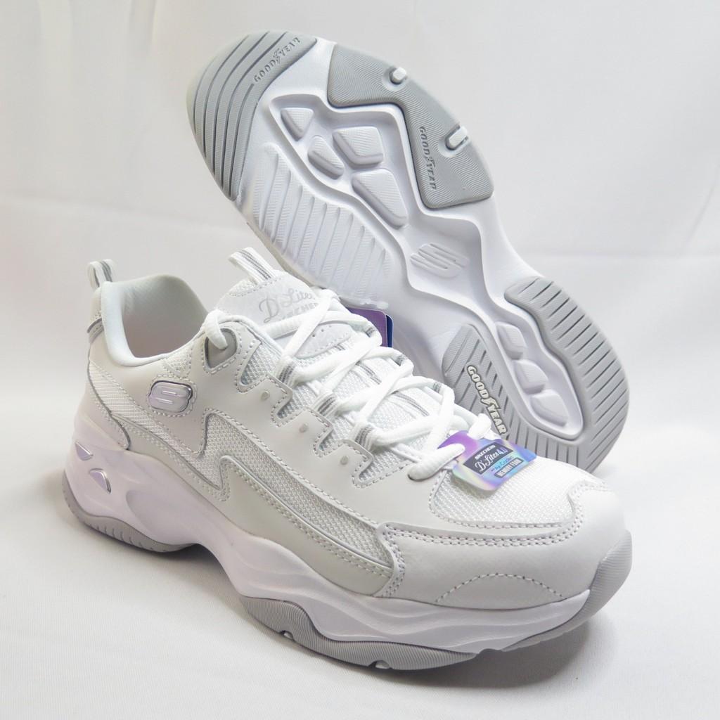 Skechers D LITES 4.0 老爹鞋 休閒鞋 女款 149491WHT 白【iSport愛運動】