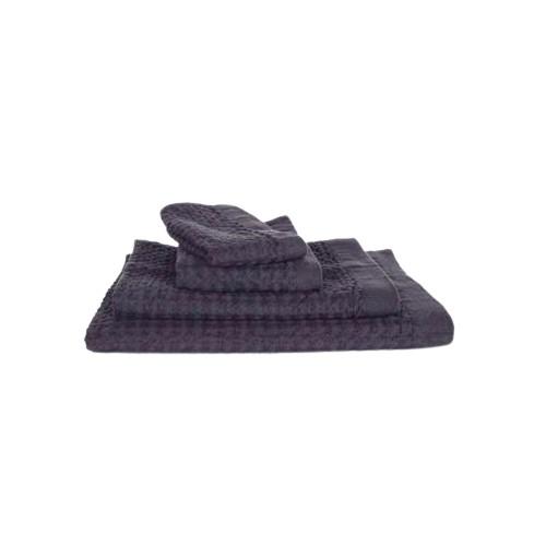 kontex Heather Waffle Towel/ S/ Charcoal Gray eslite誠品