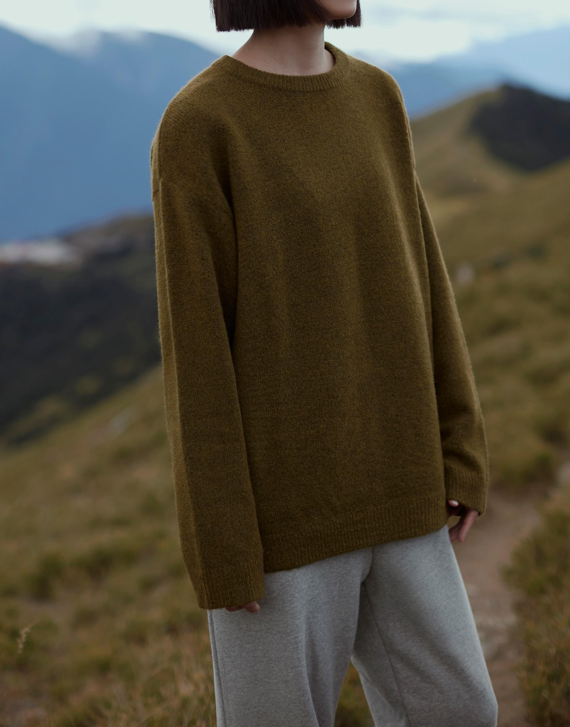 冬天想每天穿的質感混色針織上衣-PAZZO