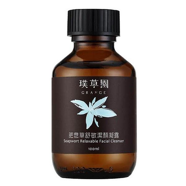 璞草園-肥皂草舒敏潔顏凝露100ml