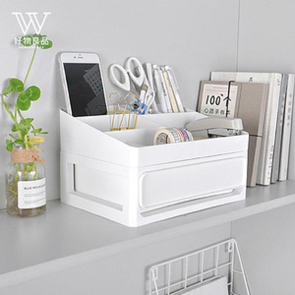 【好物良品】多功能梳妝台抽屜式儲物整理分類盒_2層2層