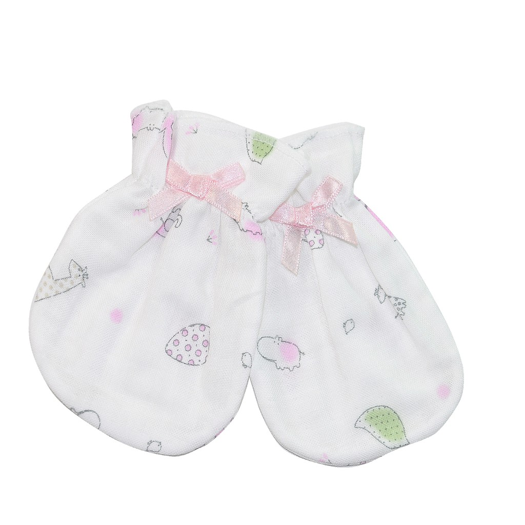 KU.KU 酷咕鴨紗布護手套 2雙入,娃娃購 婦嬰用品專賣店