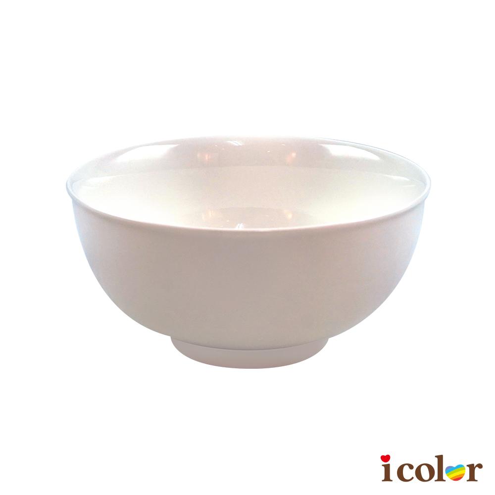 簡約純白14cm陶瓷碗(大)