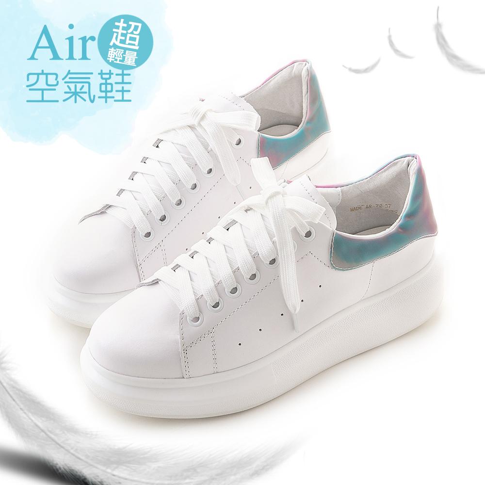 撞色真皮空氣小白鞋 獨角獸 GW18-72HN