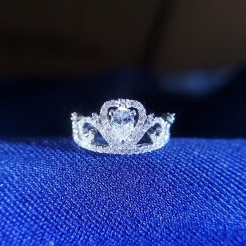 璽朵珠寶 [ 18K金 30分 皇冠 鑽石戒指 ] 微鑲工藝 精品設計 鑽石權威 婚戒顧問 婚戒第一品牌 鑽戒 GIA