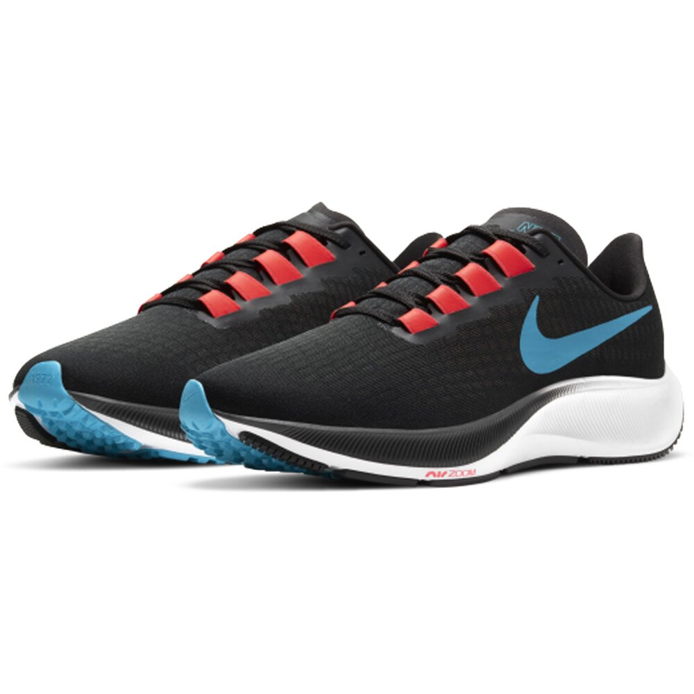 NIKE AIR ZOOM PEGASUS 37 小飛馬 男鞋 慢跑 氣練 訓練 休閒 黑藍 【運動世界】 BQ9646-011