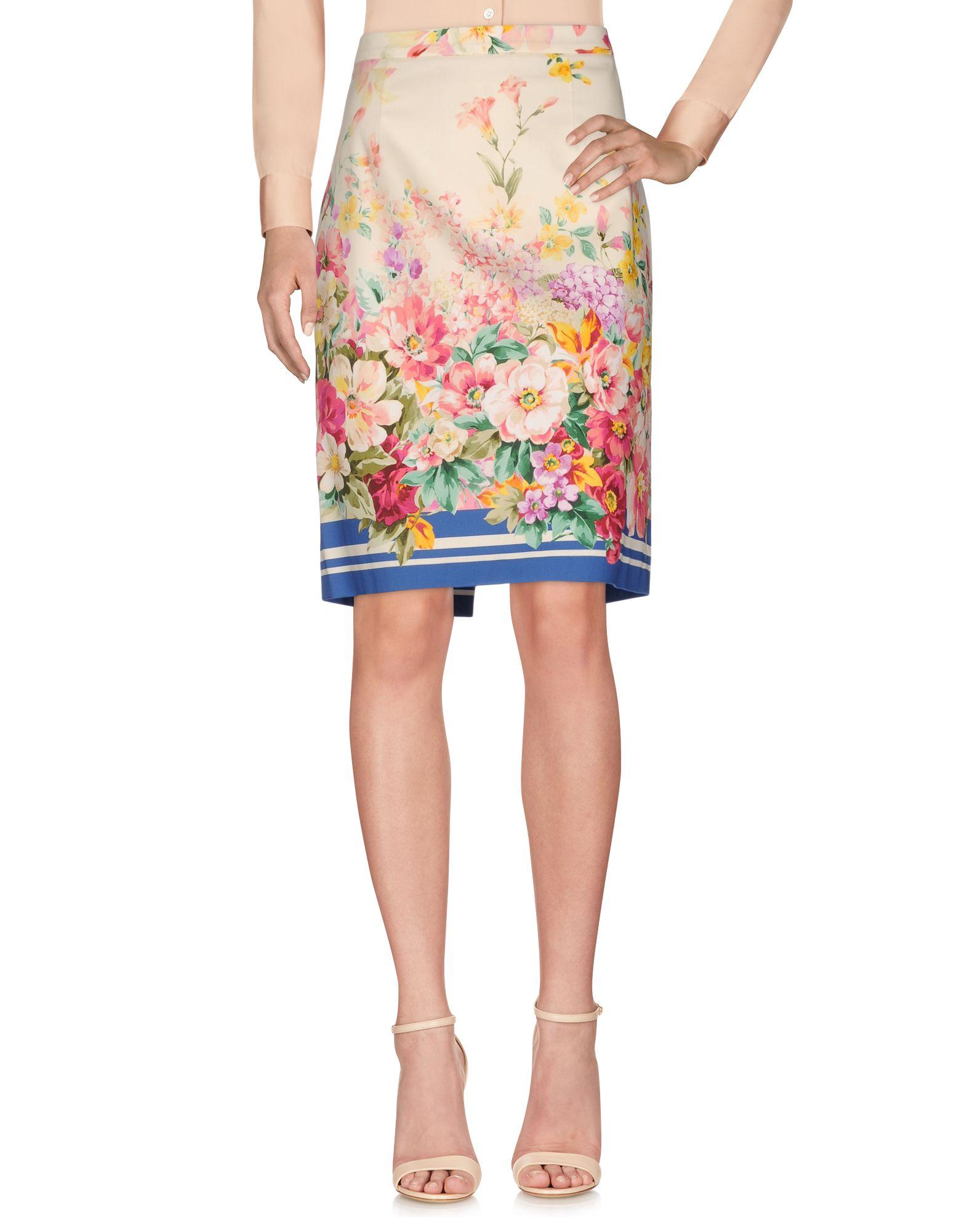 BLUGIRL BLUMARINE Knee length skirts - Item 35355229