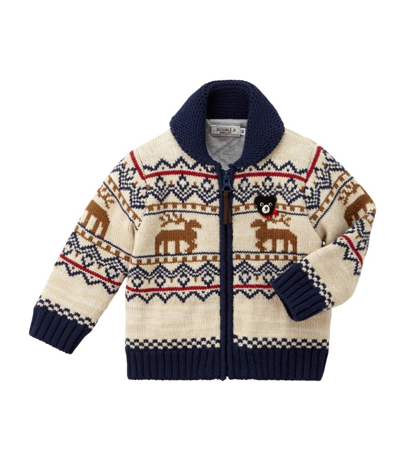 Miki House Wool-Blend Jacket (1-7 Years)