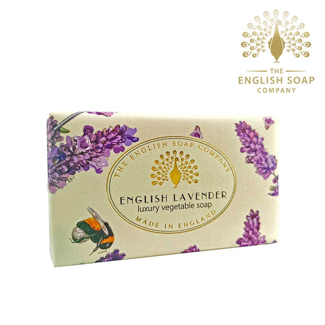 The English Soap Company 英國薰衣草 English Lavender 190g 乳木果油復古香氛皂