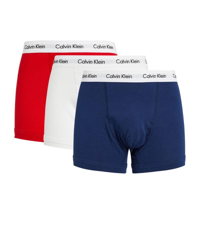 Calvin Klein Logo Trunks (Pack Of 3)