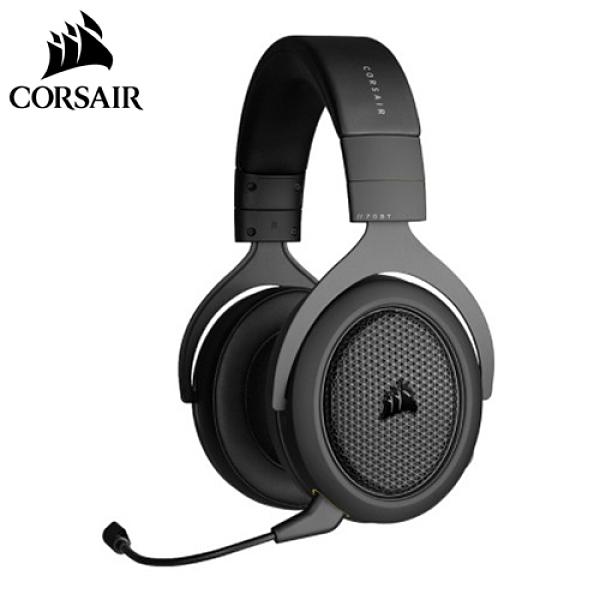 CORSAIR 海盜船 HS70 BLUETOOTH 有線/藍牙 雙模式電競耳機 黑