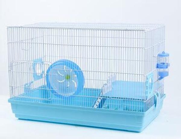 倉鼠籠 倉鼠籠子雙層豪華別墅城堡60基礎籠倉鼠窩寵物金絲熊大號別墅TW【快速出貨八折鉅惠】
