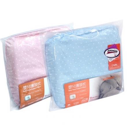 媽咪小站乳膠嬰兒護頭枕/3M表布