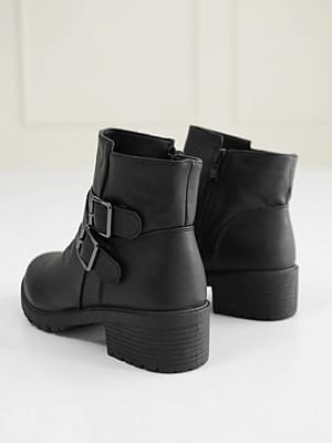 韓國空運 - Camone ankle boots 4cm 靴子