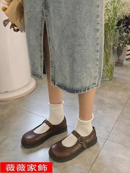 娃娃鞋 南在南方日系復古可愛軟妹jk小皮鞋瑪麗珍大頭娃娃鞋ins學生單鞋 薇薇