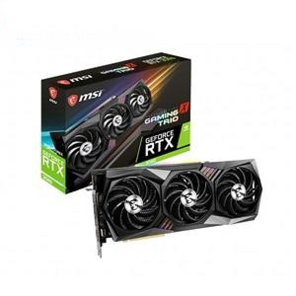 微星 MSI GeForce RTX 3080 10G GAMING X TRIO PCI-E 顯示卡