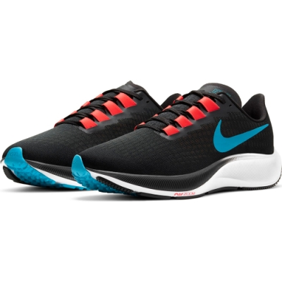 NIKE 慢跑鞋 小飛馬 運動鞋 緩震 訓練 男鞋 黑 BQ9646-011 AIR ZOOM PEGASUS 37