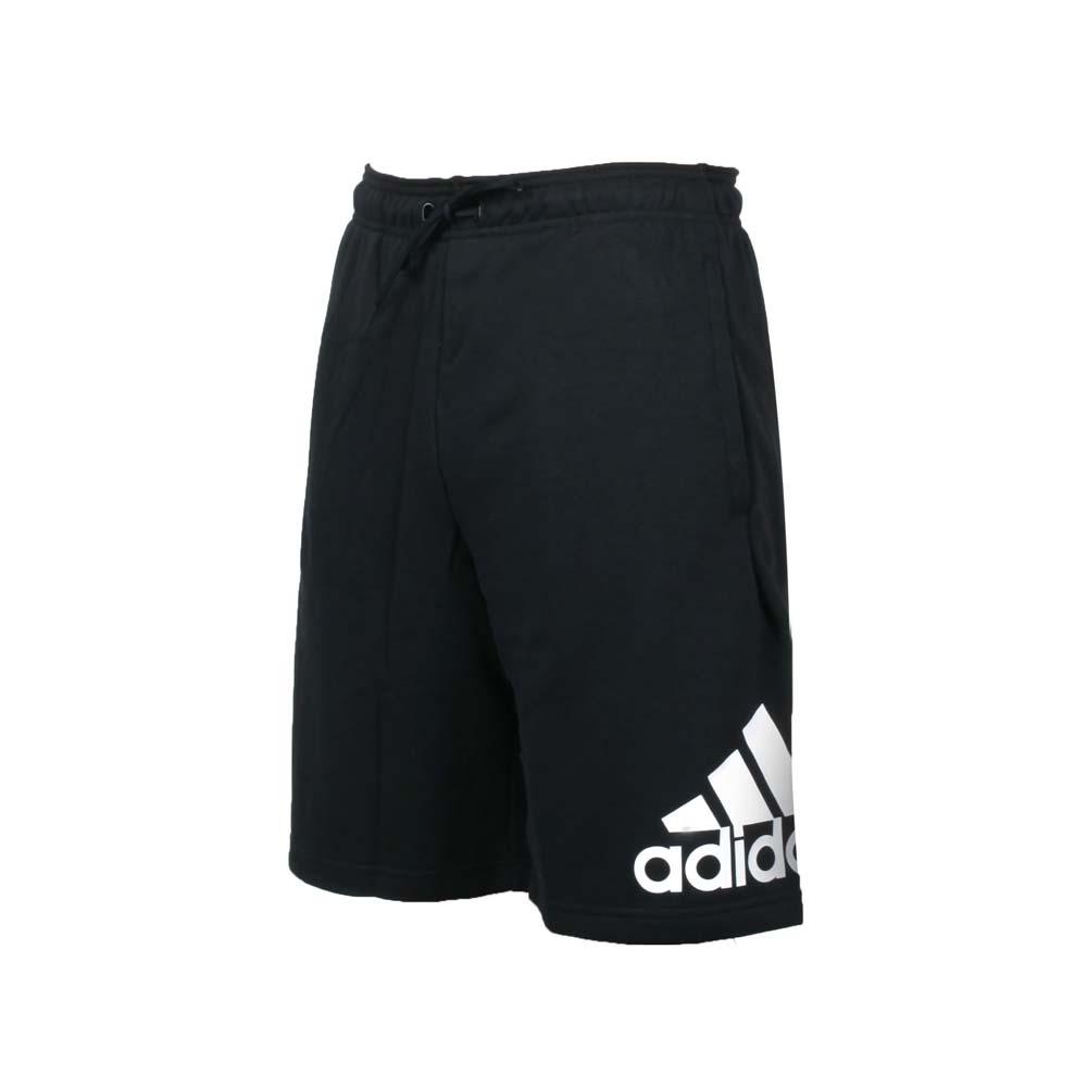 ADIDAS 男運動短褲-ID 亞規 針織 慢跑 路跑 五分褲 愛迪達 黑白