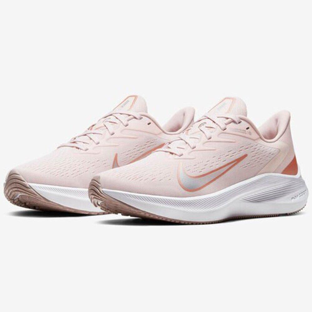 NIKE Air Zoom Winflo 7 女鞋 慢跑 輕量 網布 透氣 靈敏 穩定 粉 【運動世界】CJ0302-601