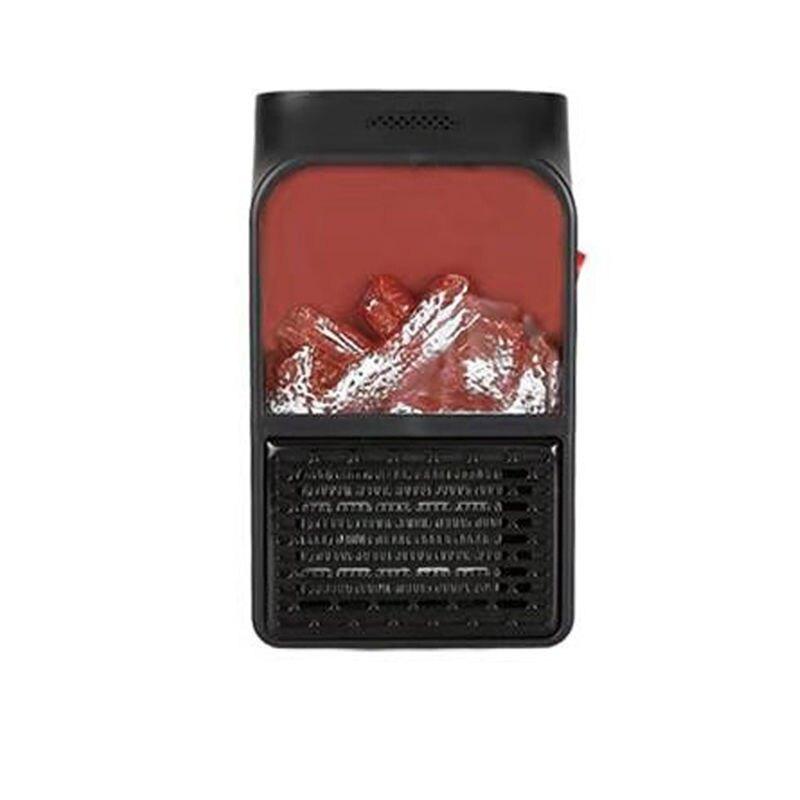 火焰取暖器 110V電暖器 辦公室取暖器 家用便攜式桌面小型迷你暖風機 電暖爐 家用取暖器