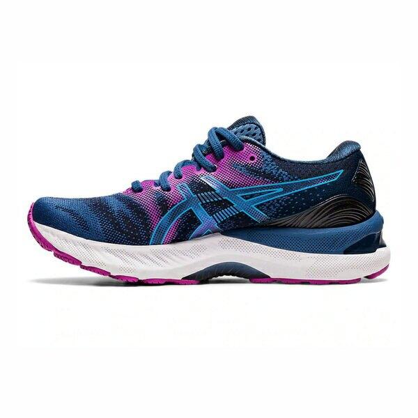 Asics Gel-nimbus 23 [1012A885-402] 女鞋 運動 休閒 慢跑 緩衝 穩定 亞瑟士 藍 紫