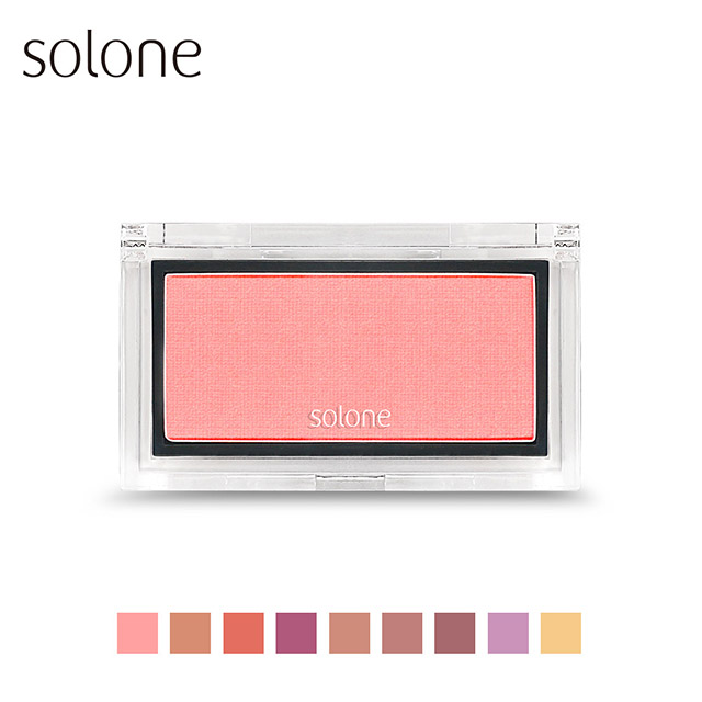 Solone 蘋果肌紅潤腮紅 2.5g #04薔薇粉紅