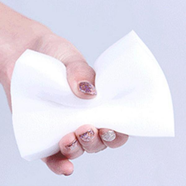 【BlueCat】萬用 去汙清潔物品 洗車 洗碗 奈米強力除垢去污白色海綿 (無包裝)