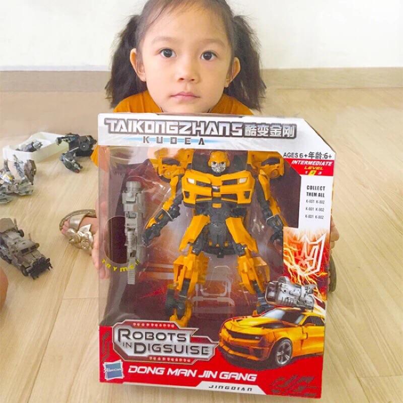 現貨馬上出貨✨變形金剛電影版3 航家版V級 大黃蜂戰神模型玩具