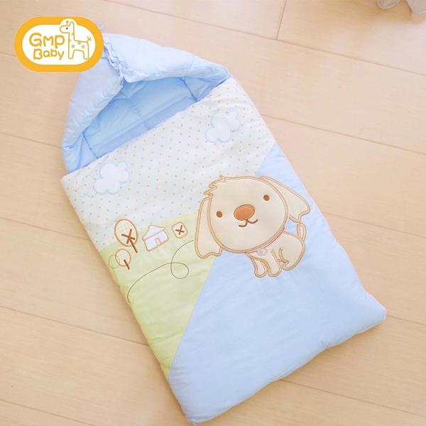 GMP BABY - 嬰兒抱袋(可愛狗-藍)XW6-402-B 799元