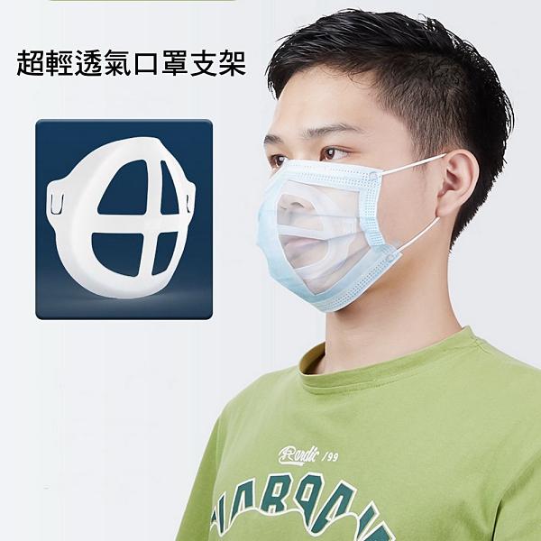 【20入】MS07全新二代3D立體超舒適透氣口罩內托支架