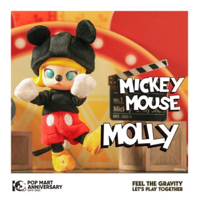 Molly茉莉女孩 X米奇 迪士尼聯名BJD大型公仔