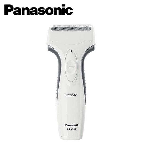 【Panasonic 國際牌】單刀頭可水洗電鬍刀 ES-SA40-W