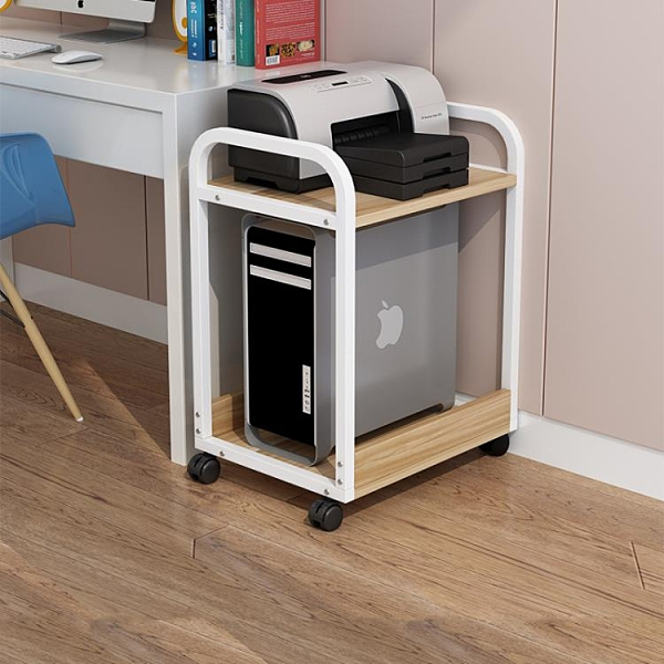 主機托架 辦公室可移動電腦主機托架打印機置物架臺式機架多層機箱托架【快速出貨八折下殺】