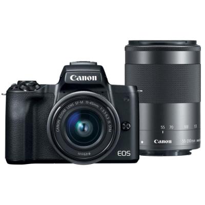 Canon EOS M50 II M50 MARK II 15-45mm+55-200mm 雙鏡組 公司貨