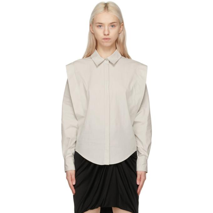Isabel Marant 灰白色 Kigalki 衬衫