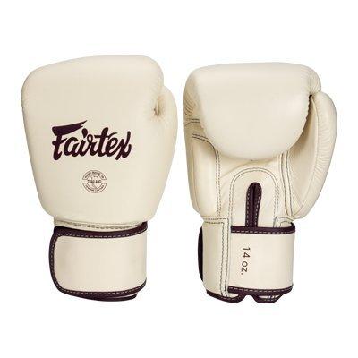 [古川小夫] Fairtex 12oz 健身房拳擊手套~重擊打沙袋拳套~個性化改裝 - 卡其色 BGV16