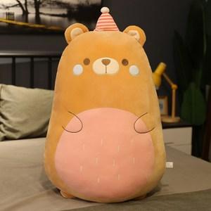 哥吉啦啦怪獸玩偶 【熊熊】造型抱枕  棉床本舖