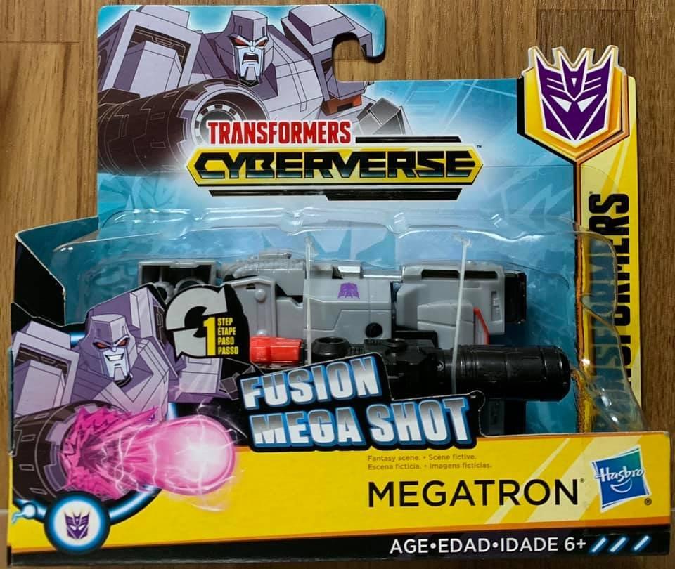 ☆勳寶玩具舖【現貨】變形金剛 卡通系列 Cyberverse 太空宇宙快變 密卡登 MEGATRON