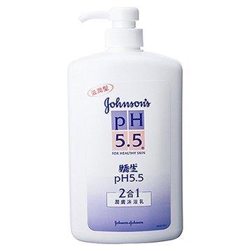 嬌生pH5.5 潤膚沐浴乳(2合1)1000ml