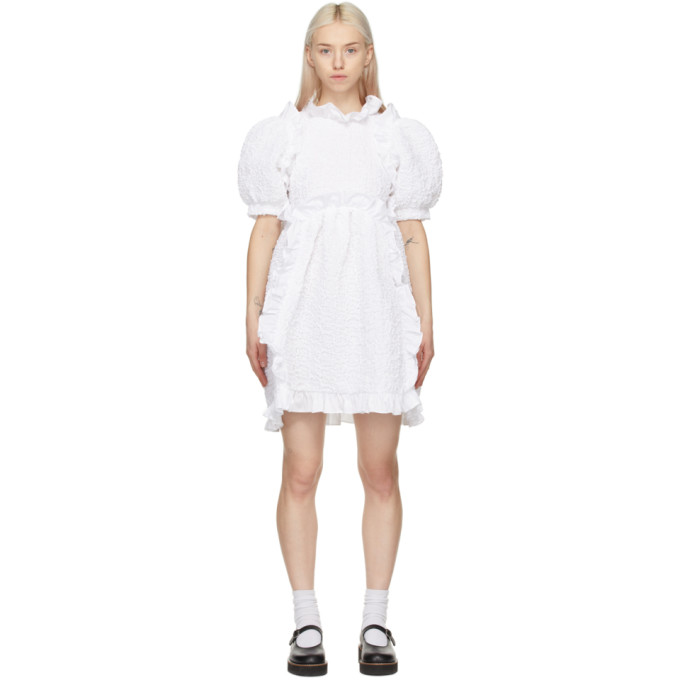 Cecilie Bahnsen 白色 Lotta 连衣裙