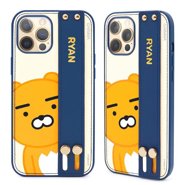 GARMMA KAKAO FRIENDS iPhone 12 mini/Pro/Pro Max i12 手掌帶皮革保護套